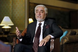 Afghanistan's top peace envoy wants Pakistan to push Taliban to curtail violence