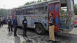 Six injured after explosion in passenger bus in Karachi