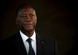 Ivory Coast President Ouattara pledges big investment if re-elected
