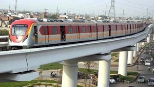 Orange Line Metro Train project all set to start operation