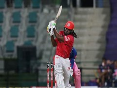 Gayle fined for flinging bat after missing IPL century