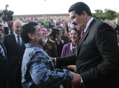 Maradona helped Venezuelan govt with food supplies, says President Maduro