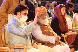Fazl says PDM will hold Multan rally at all costs, warns govt to refrain from creating hurdles