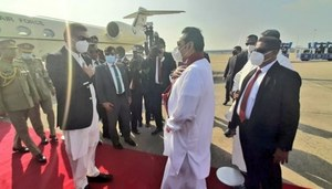 PM arrives in Sri Lanka on two-day maiden visit