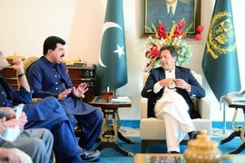 PM nominates Sadiq Sanjrani for Senate chairmanship