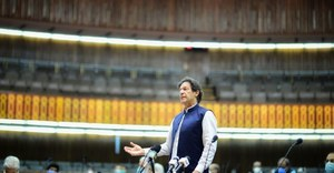 PM Khan wins vote of confidence from NA amid opposition's boycott