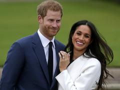 Amid transatlantic feud, zero hour for Harry, Meghan interview