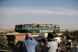Egypt seizes Ever Given ship over $900 million Suez Canal compensation bill
