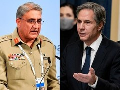 US Secretary of State, Army Chief discuss US withdrawal from Afghanistan over phone