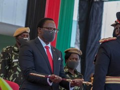 Malawi opposition party calls for President to vacate office