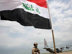 Drone blast hits Iraq airport in new tactic against US troops