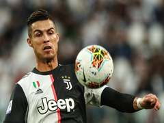 Juve without Ronaldo for Atalanta game due to flexor problem