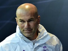 Real's Zidane tight-lipped on Super League question