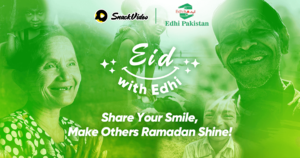 Popular SnackVideo x Edhi Ramadan fundraising campaign gains more momentum as it raises 500,000 PRP over 7 days