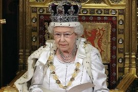 Queen re-emerges to outline UK govt's new agenda
