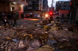21 Palestinians killed in Israeli air raids on Gaza Strip
