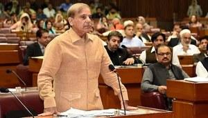 Shehbaz comes down hard on govt's budgets