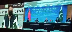 Despite challenges, CPEC projects meeting deadlines: Asad Umar