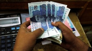 Rupee edges near all-time low against the dollar