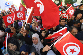 Tunisians protest against president's power grab as opposition deepens