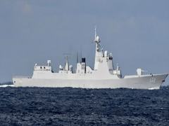 China, Russia navy ships jointly sail through Japan strait