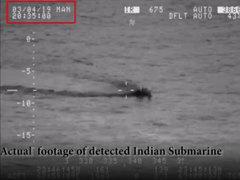 Navy foils Indian submarine's intrusion attempt