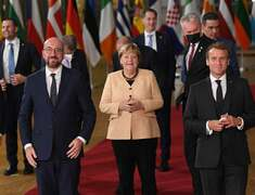 'A great European': warm send-off for Merkel after 107 EU summits