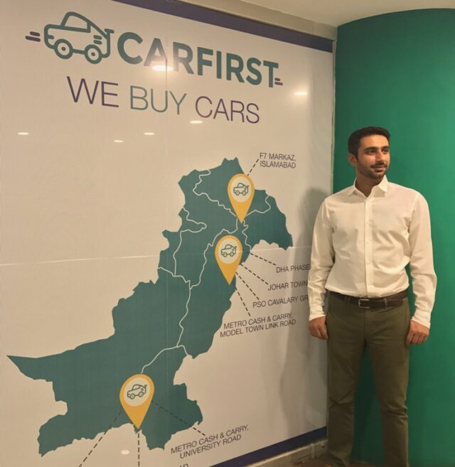 We make it easier to sell cars', Co-founder and CEO, CarFirst