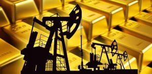 Oil and gold: down and up, or up and down