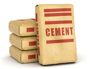 Cement in chains