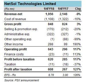 NetSol: non-core delights