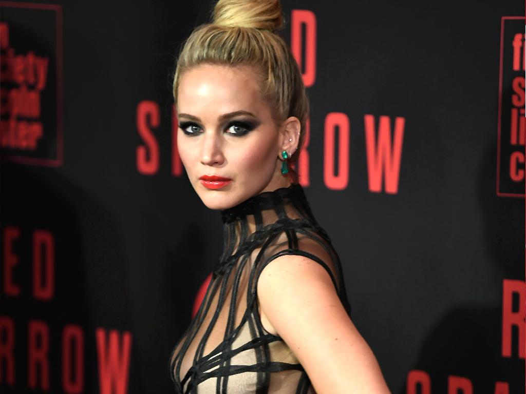 Jennifer Lawrence On Red Sparrow Nude Scene