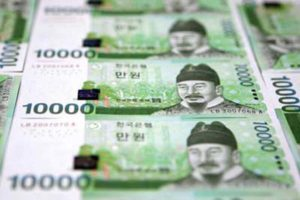 South Korea to sell 7.9 trln won T-bonds in April