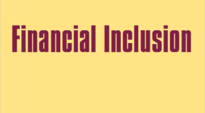 Financial inclusion: up in the air?