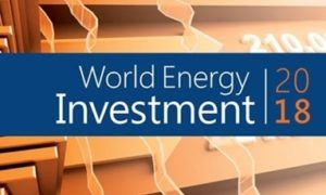 Declining global energy investment