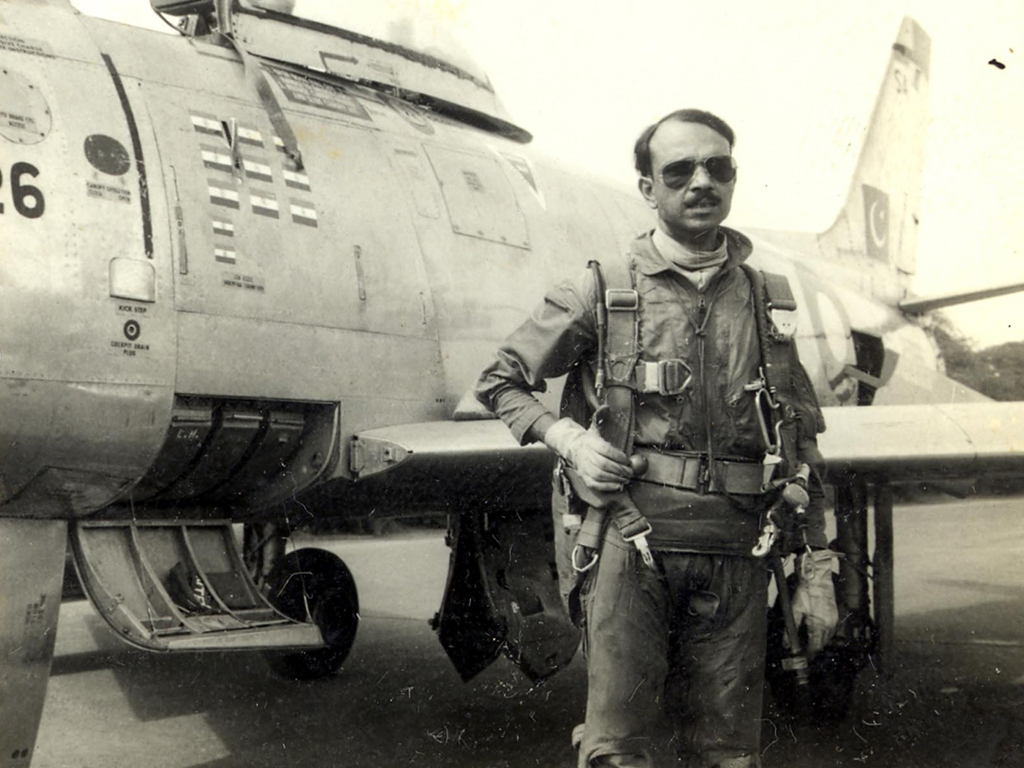 Hero of 1965 War M M Alam's record remains unbeaten - Business - Business  Recorder