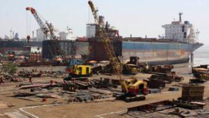 Shipbreaking sector in the graveyard
