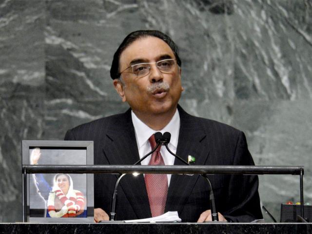IHC accepts petition seeking Zardari's disqualification