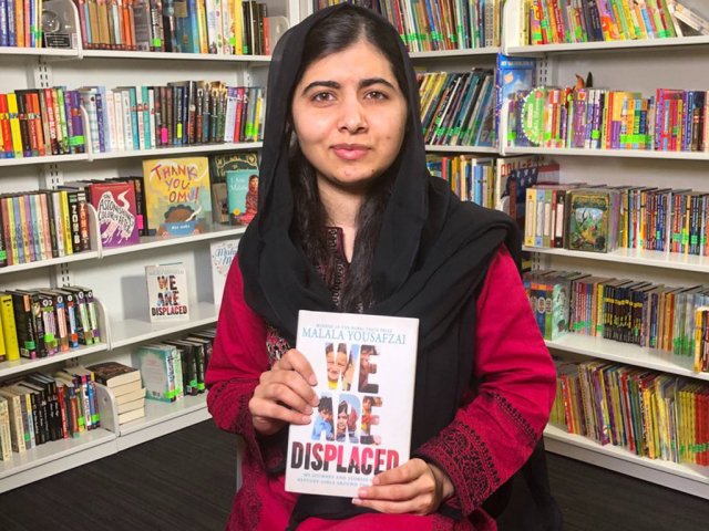 Bill Gates congratulates Malala on her new book on displaced refugees