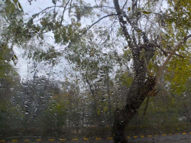 Temperature drops after rain hits Karachi