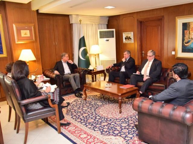 Russian envoy Zamir Kabulov meets Shah Mahmood Qureshi