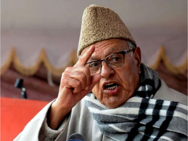 IoK ex-CM Farooq Abdullah tells India not to blame only Pakistan for attack