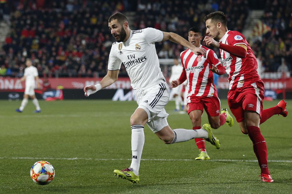 Benzema double sends Madrid into Copa del Rey semis ...
