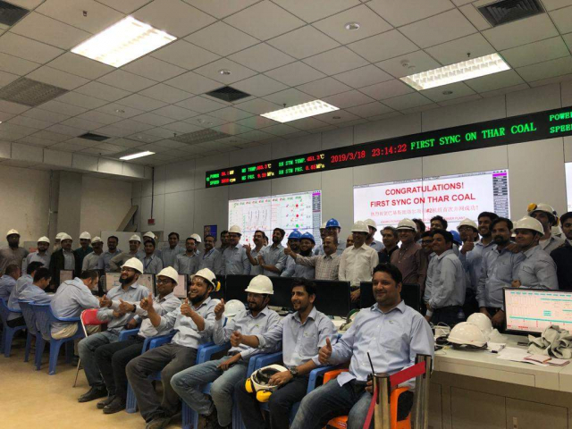 History Redefined: Engro successfully synchronizes the 330MW power plant on Thar Coal