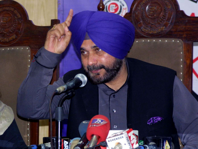 Was India uprooting terrorists or was it an election gimmick, asks Navjot Singh Sidhu