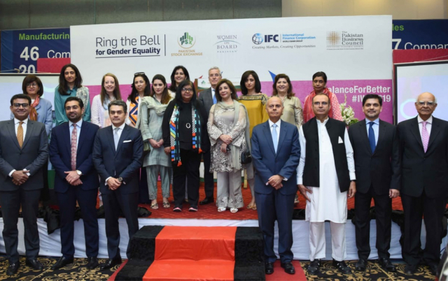 PSX, WOB Pakistan, IFC and PBC join to Ring the Bell for Gender Diversity