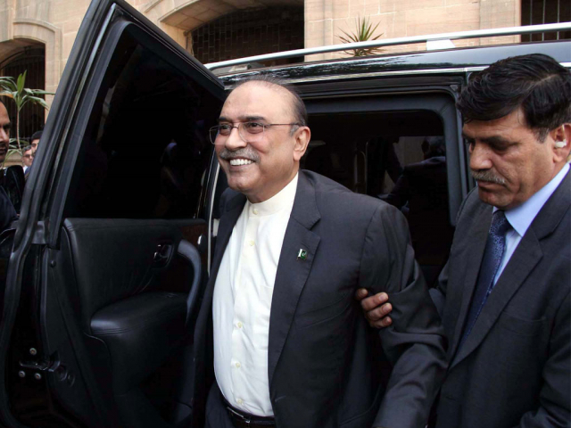 Court rejects Zardari's plea to be shifted to Karachi for treatment