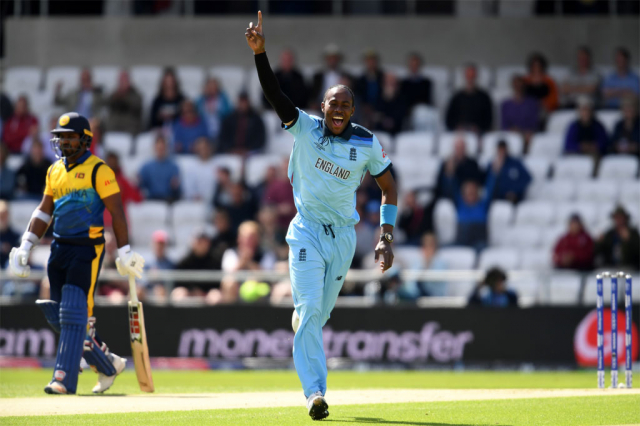 Jofra Archer finds his World Cup medal at last