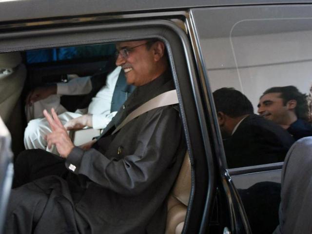 Aseefa voices concern over Zardari's health