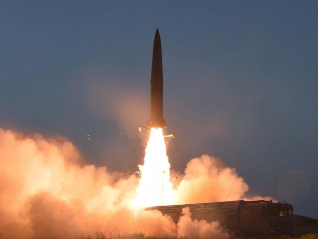 North Korea fires short-range projectiles